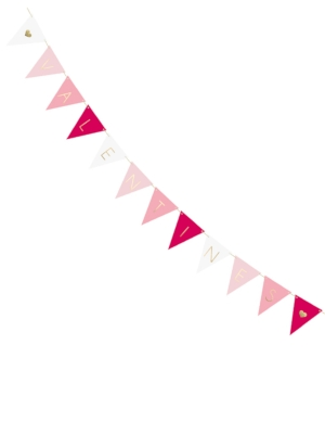 Bunting Valentines - 12 flags, 18 cm x 2.10 m