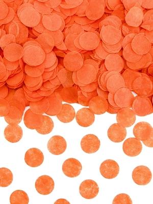 Konfeti aplīši, oranži, 1.6 cm, 15 g