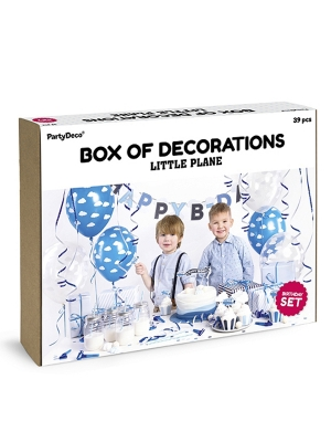 Party decorations set - Little Plane
