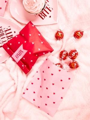 6 шт, Бумажные мешочки День Св.Валентина, 13 х 14 см