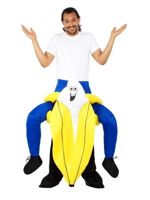 Kostīms Banana mugurā