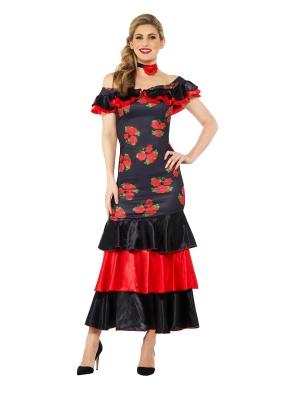 Flamenko lēdijas kostīms