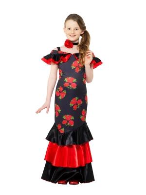 Flamenko meitenes kostīms