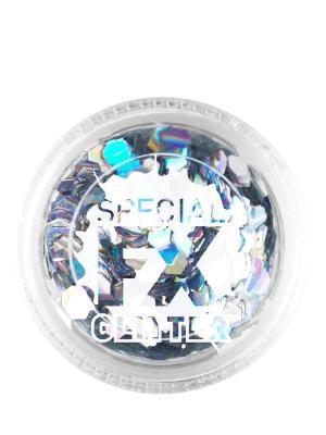 Confetti Glitter, Silver, 2 g