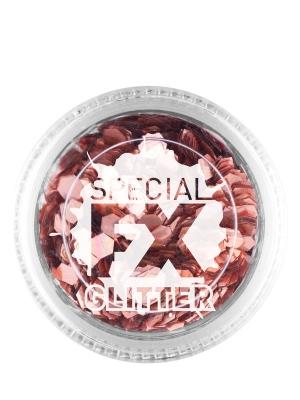 Confetti Glitter, Rose Gold, 2 g