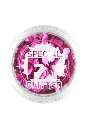Spīdumi, rozā, 2 g
