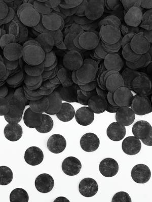 Confetti Circles, black, 15g