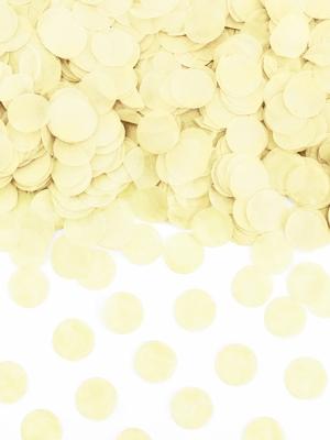 Confetti Circles, light cream, 15g