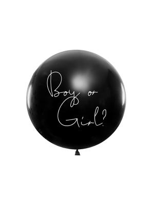 1 m balons, Puisītis vai Meitenīte? - Meitenīte!