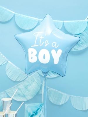 Zvaigzne -Puisītis, gaiši zila, 48 cm