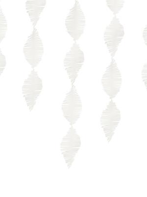 Strēmele no kreppapīra, balta, 15 x 300 cm