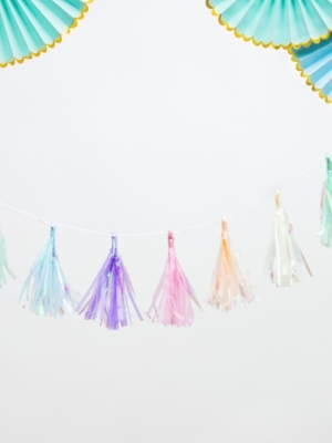 Tassel garland, mix, 1.2 m