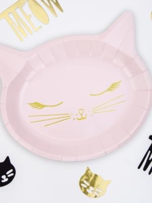 6 gab, šķīvīši - Kaķis, 22 x 18.5 cm