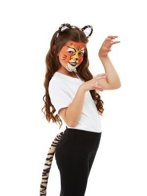 Комплект тигра с гримом