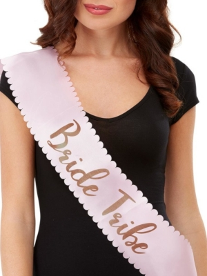 Bride Tribe Sash