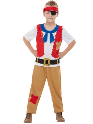 Horrible Histories Pirate Crew Costume