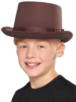 Цилиндр, коричневый