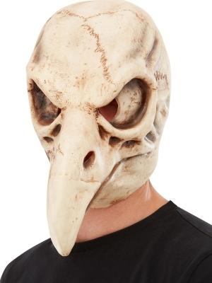 Маска черепа птицы