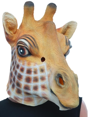 Žirafes maska