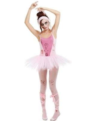 Zombija balerīnas kostīms