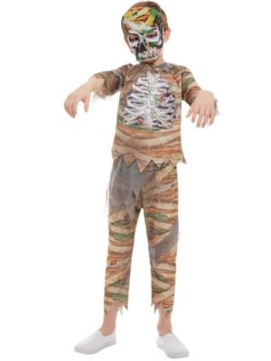Mūmijas zombija kostīms