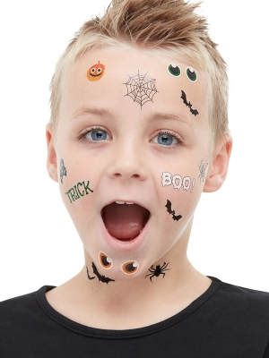 Trick or Treat Halloween Tattoos