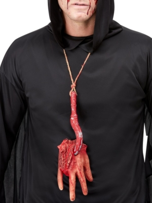 Severed Hand Necklace