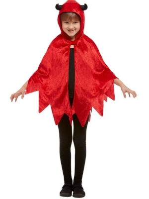 Devil Hooded Cape