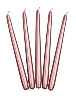 Konusa svece, rozā zelts, 24 cm