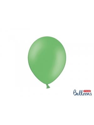 50 gb, Pasteļtoņa baloni, zaļi, 27 cm