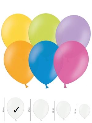 50 gb, Pasteļtoņu baloni, mix, 30 cm
