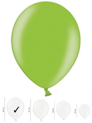 50 gb, Perlamutra baloni, spilgti zaļi, 30 cm