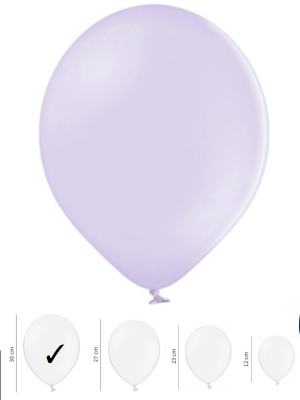 Strong Balloons, Pastel Light Lilac, 30 cm