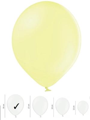 Пастельный шар, светло-желтый, 30 см