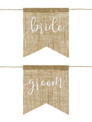 2 gab, Krēslu zīmes Bride/Groom, 20 x 22 cm