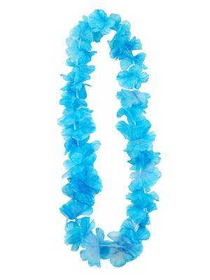 Havaju ziedu virtene, gaiši zila, 1 m