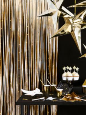 Lietutiņa aizskars, matēts zelts, 90 х 250 cm