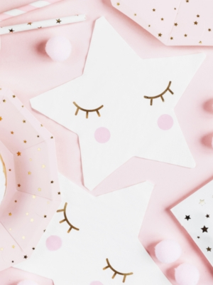 20 gab, Salvetes Little Star - Star, 16 x 16 cm