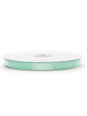 Satin Ribbon, mint, 12mm х 100m