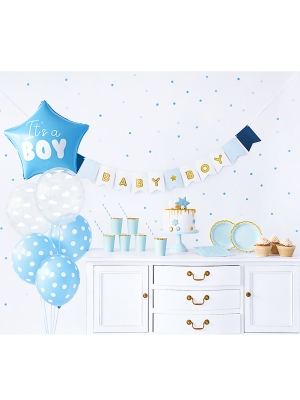 Party decorations set - It`s a boy