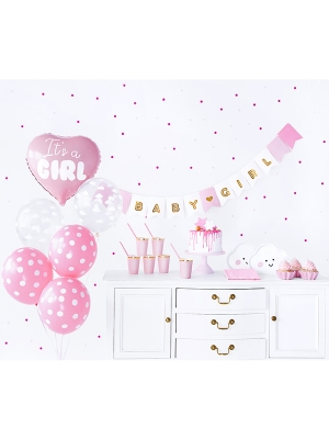 Party decorations set - It`s a girl