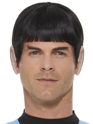 Star Trek, Original Series Spock Wig, Black