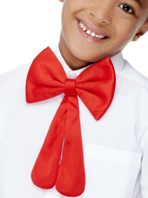 Kids Bow Tie, Red