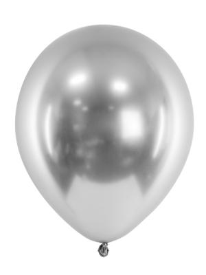 Хромированный шар, серебро, 27 см