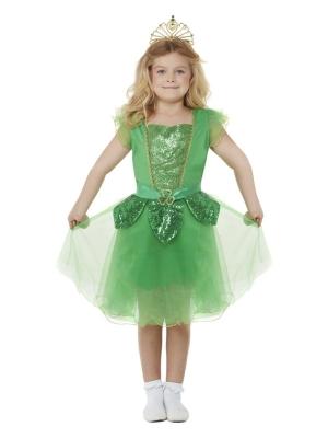Deluxe St Patricks Day Glitter Fairy Costume