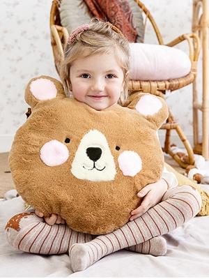 Pillow Bear, 36 x 37 cm