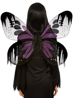 Dark Botanicals Moth Wings, Purple, 65 cm