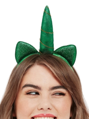Vienradža stīpiņā, zaļa