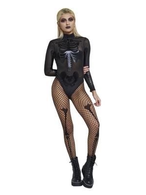 Caurspīdīgs skeleta bodijs