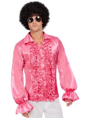 60-to gadu krekls, spilgti rozā